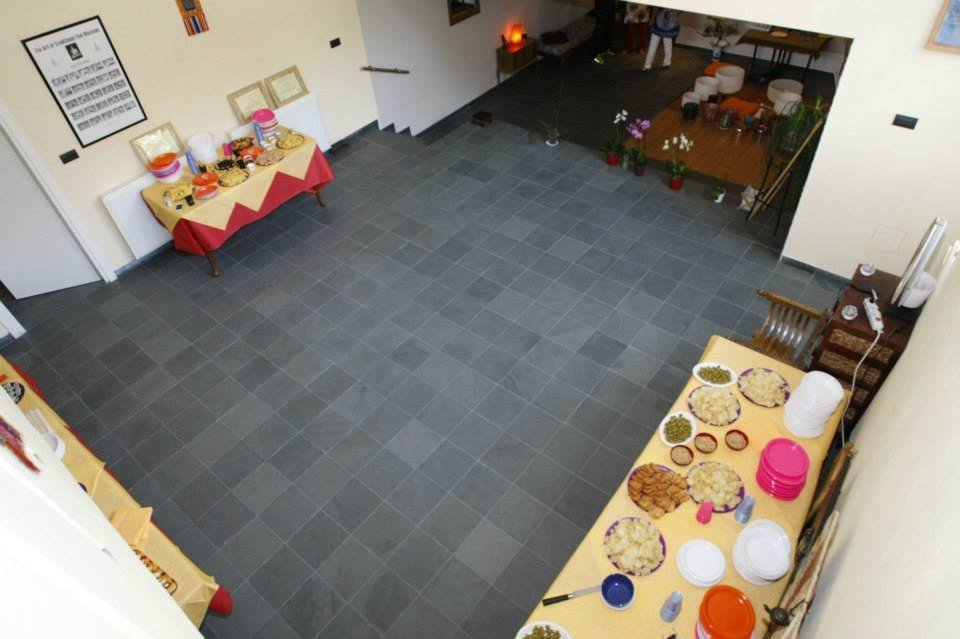 slate floor tiles