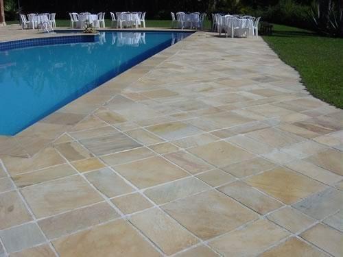 Piastrelle e bordi piscina in pietra ardesia materiali di alta qualit - Piastrelle di ardesia ...