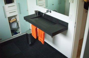 Piano Bagno In Ardesia : Arredo bagno in ardesia piatti doccia top bagno lavandini