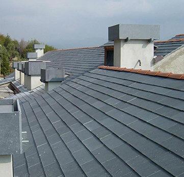 Tetti in ardesia la copertura ideale per la tua abitazione - Materiale isolante per tetti ...